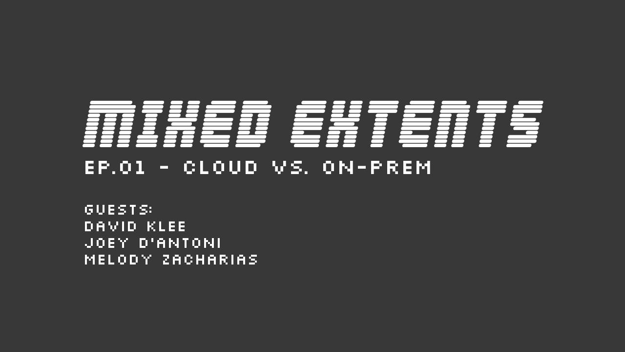 01: Cloud vs. On-Prem